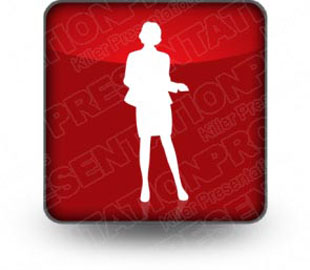 Download silhouettes 06 b red PowerPoint Icon and other software plugins for Microsoft PowerPoint