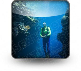 Download scuba diver b PowerPoint Icon and other software plugins for Microsoft PowerPoint