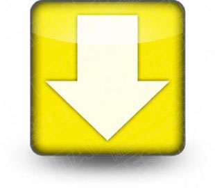 Download arrow down yellow PowerPoint Icon and other software plugins for Microsoft PowerPoint