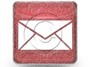 Mail Red Color Pen PPT PowerPoint Image Picture
