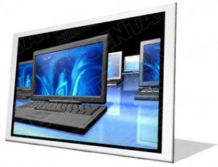 Download laptops reflection f PowerPoint Icon and other software plugins for Microsoft PowerPoint