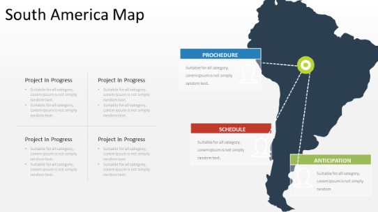 PowerPoint Map - Map Layout 030