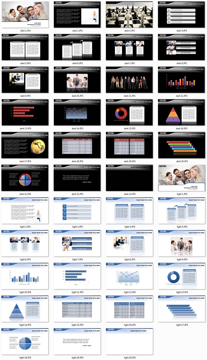 Power Presentation: Consulting PPT Premium PowerPoint Presentation Template Slide Set
