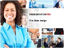 Business - People PPT presentation powerpoint template