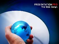 Global PPT presentation powerpoint template