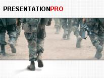 Military PPT presentation powerpoint template